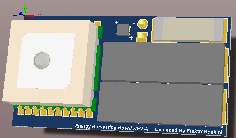 Energy Harvesting IOT board